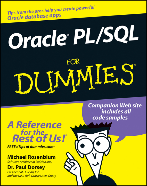 Michael Rosenblum Oracle PL / SQL For Dummies oracie sql