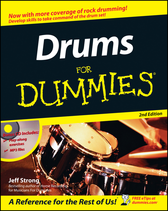 Jeff  Strong. Drums For Dummies