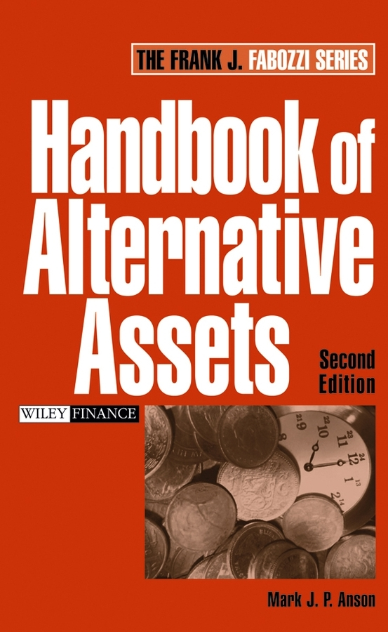 Mark Anson J.P. Handbook of Alternative Assets ISBN: 9780470089224 catalog of teratogenic agents first edition