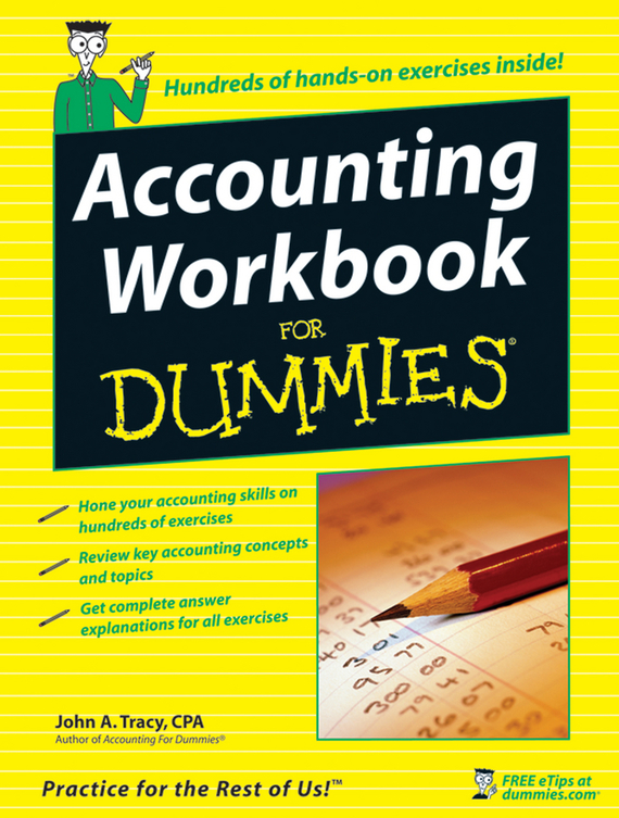 John Tracy A. Accounting Workbook For Dummies