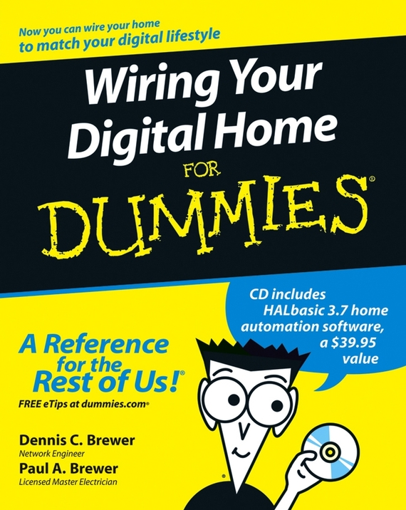 Paul Brewer A. Wiring Your Digital Home For Dummies ISBN: 9780470106822 5 1 channel dts ac 3 home theater digital audio decoder black
