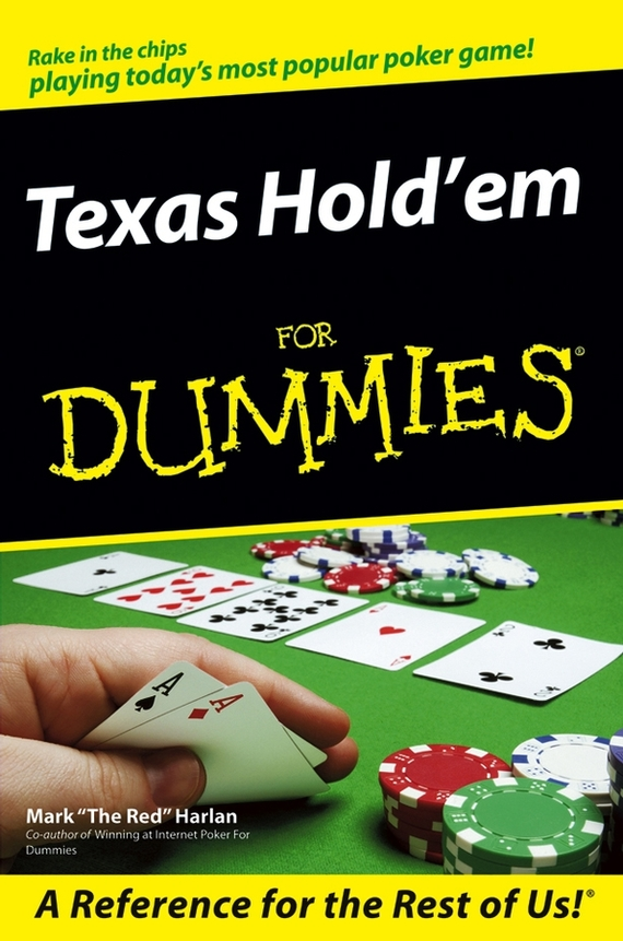 Mark  Harlan Texas Hold'em For Dummies new baccarat texas hold em plastic playing cards waterproof frosting poker card pokerstar board game 2 48 3 46 inch k8356