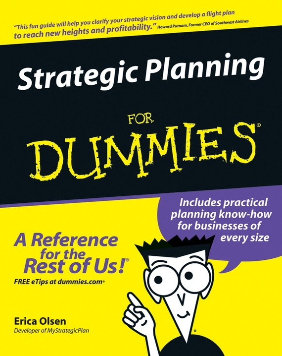 Erica  Olsen Strategic Planning For Dummies