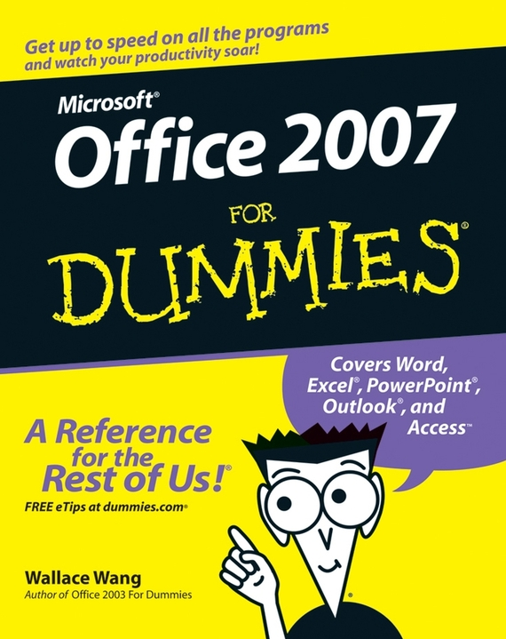 Wallace Wang Office 2007 For Dummies ISBN: 9780470120804