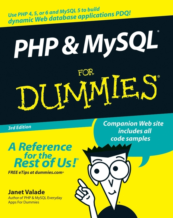 Janet Valade PHP and MySQL For Dummies bud smith e creating web pages for dummies