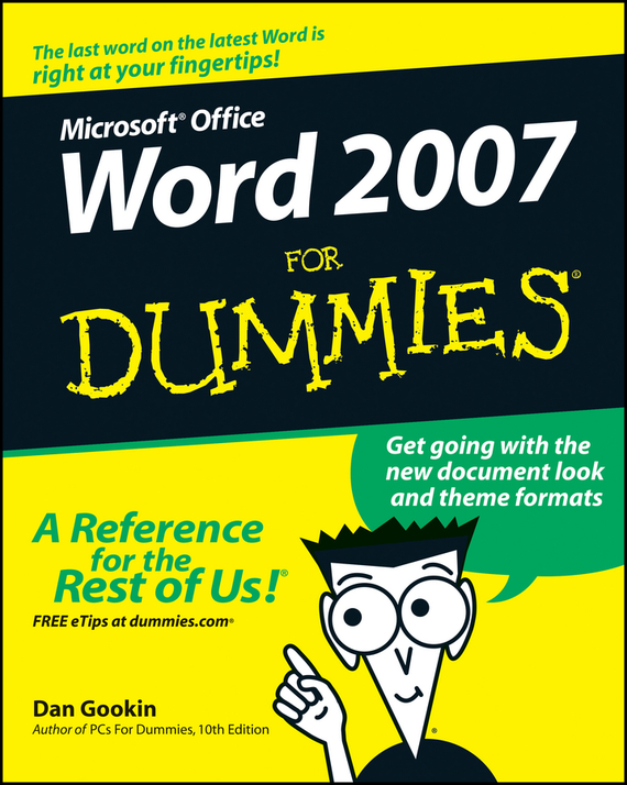 Dan Gookin Word 2007 For Dummies