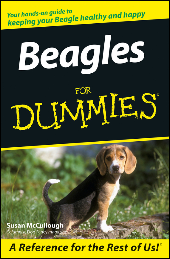 Susan McCullough Beagles For Dummies ISBN: 9780470125267 key words 2c i like to write