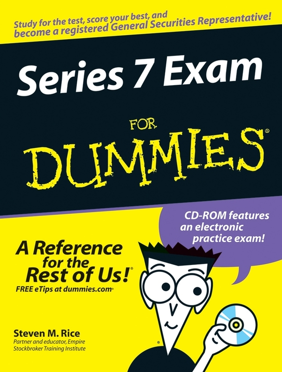 Steven Rice M. Series 7 Exam For Dummies steven bragg m cost reduction analysis tools and strategies