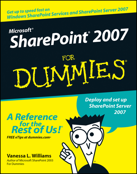 Vanessa Williams L. Microsoft SharePoint 2007 For Dummies