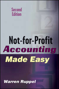 Warren  Ruppel - Not-for-Profit Accounting Made Easy