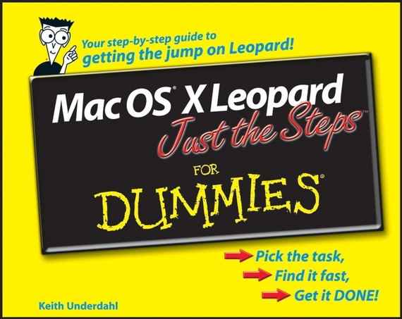 Keith Underdahl Mac OS X Leopard Just the Steps For Dummies managing the store