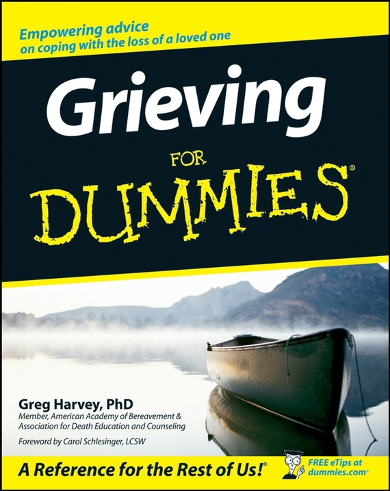 Greg Harvey Grieving For Dummies a new lease of death