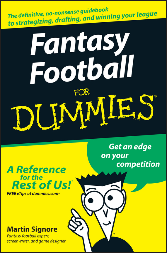 Martin  Signore Fantasy Football For Dummies tony martin personal finance for canadians for dummies