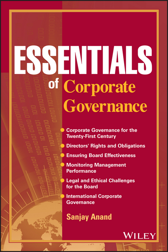 цены Sanjay Anand Essentials of Corporate Governance