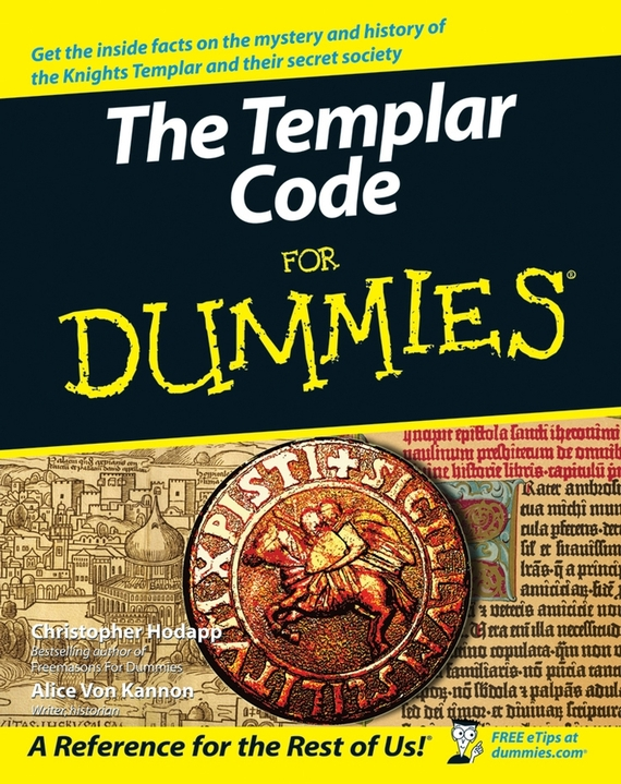 Christopher Hodapp The Templar Code For Dummies the clue in the crossword cipher