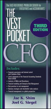 - The Vest Pocket CFO