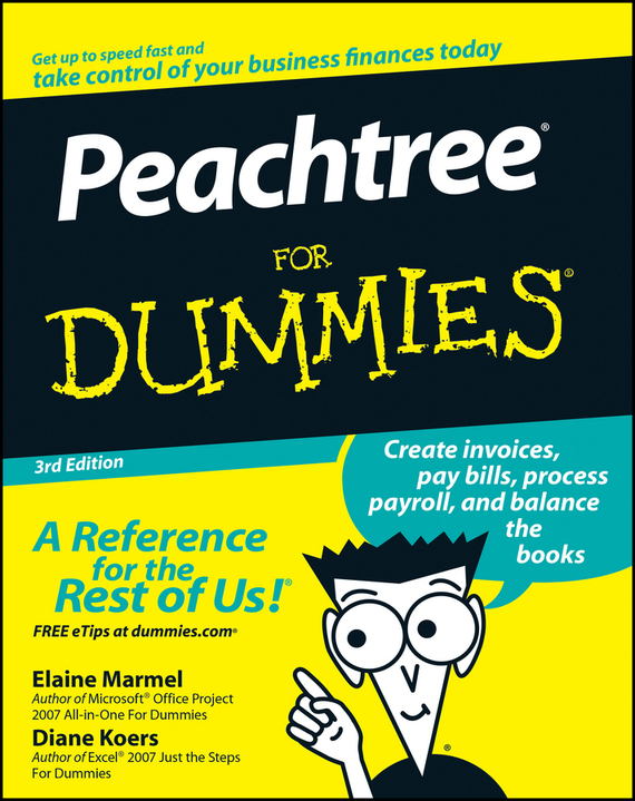 Diane Koers Peachtree For Dummies sax peachtree complete ii accounting made easy pr only
