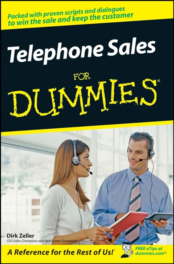 Dirk  Zeller Telephone Sales For Dummies dirk zeller success as a real estate agent for dummies australia nz