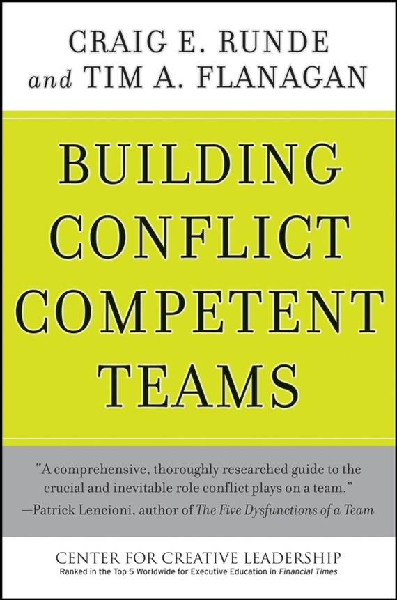 Tim Flanagan A. Building Conflict Competent Teams developing schools in a conflict free environment