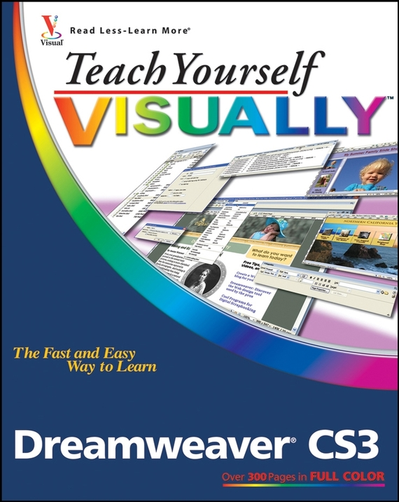 Janine  Warner Teach Yourself VISUALLY Dreamweaver CS3 网页设计与制作(dreamweaver cs3)