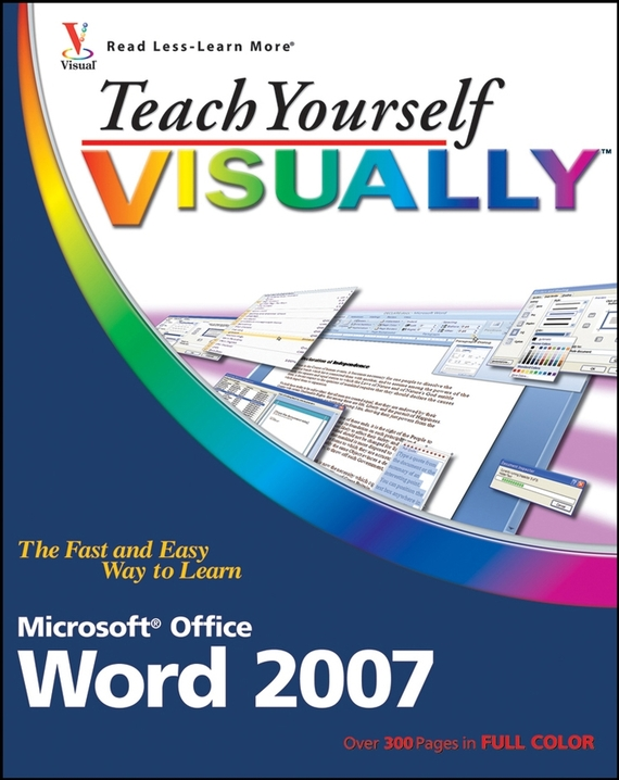 Elaine  Marmel Teach Yourself VISUALLY Word 2007 tlp759 dip 8