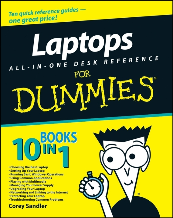 Corey  Sandler Laptops All-in-One Desk Reference For Dummies building web sites all–in–one desk reference for dummies®