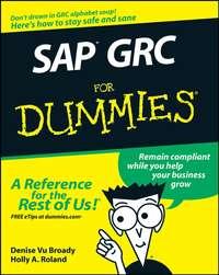 Holly Roland A. - SAP GRC For Dummies