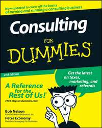 Peter  Economy - Consulting For Dummies