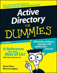Steve  Clines - Active Directory For Dummies