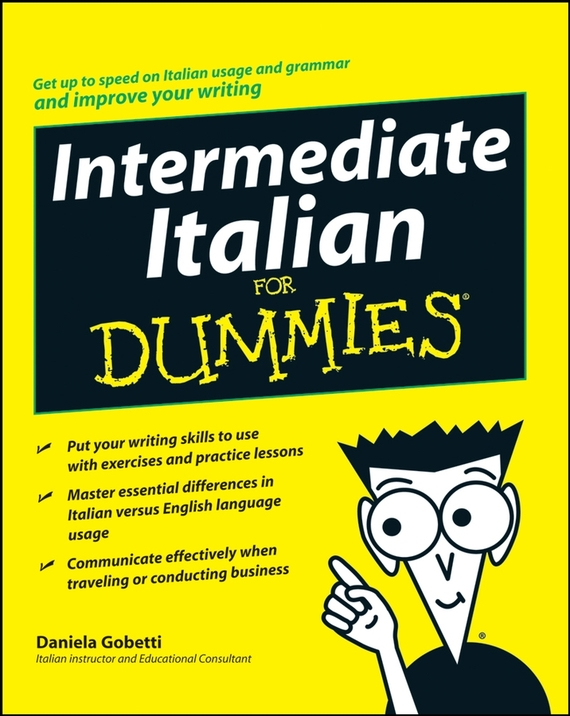 Daniela Gobetti Intermediate Italian For Dummies переходник hama jack 3 5 m jack 6 3 f стерео черный 00122388