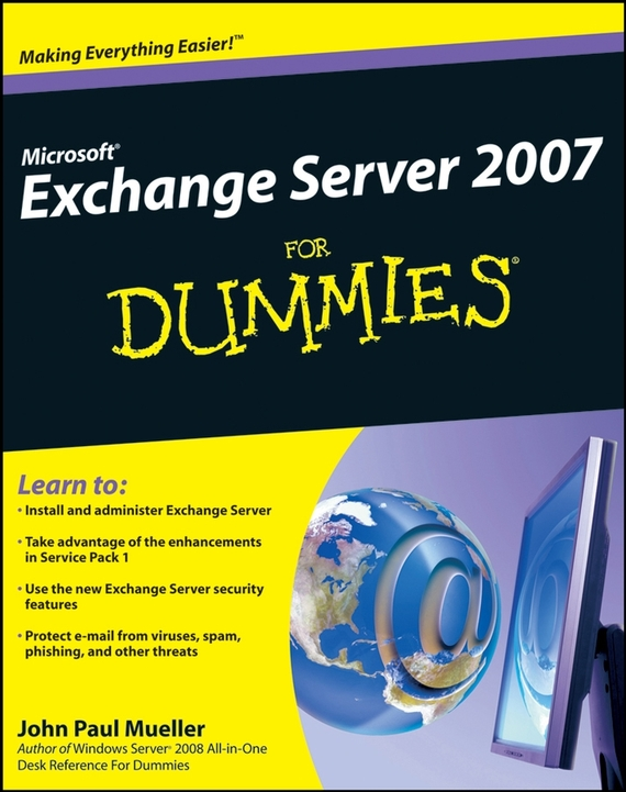 где купить John Mueller Paul Microsoft Exchange Server 2007 For Dummies по лучшей цене