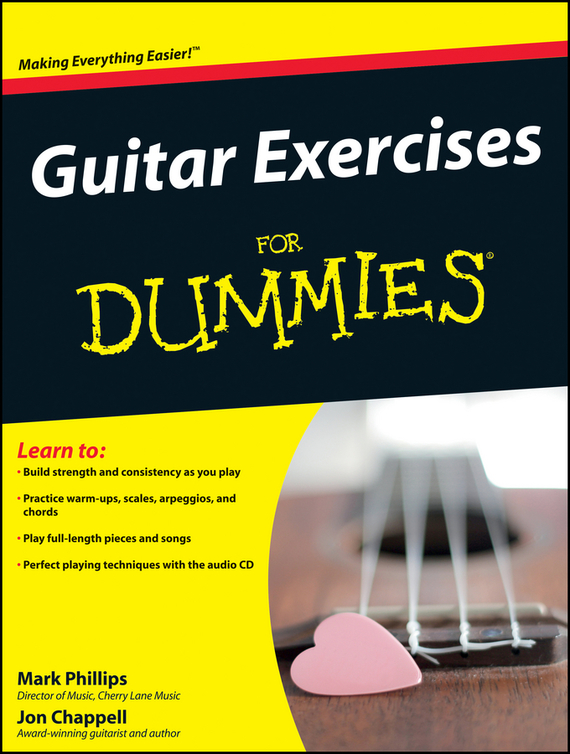 Jon  Chappell Guitar Exercises For Dummies jon chappell rock guitar for dummies®