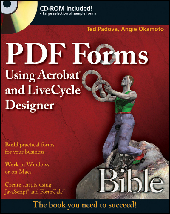 Ted Padova PDF Forms Using Acrobat and LiveCycle Designer Bible кулоны подвески медальоны swarovski 5349219 page 2