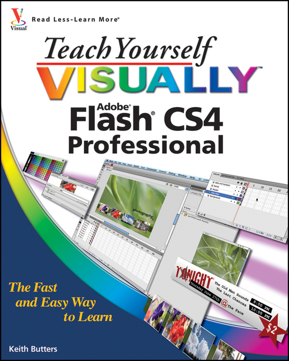 Keith  Butters Teach Yourself VISUALLY Flash CS4 Professional