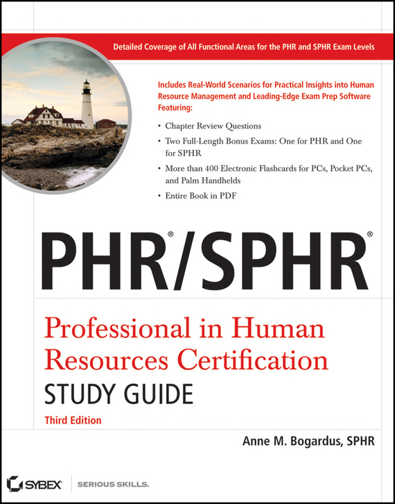 Anne Bogardus M. PHR / SPHR Professional in Human Resources Certification Study Guide pgmp program management professional all in one exam guide