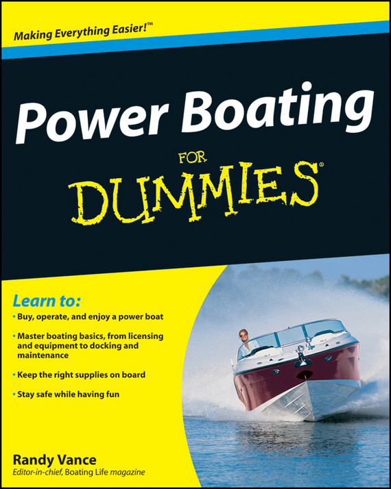 Randy Vance Power Boating For Dummies