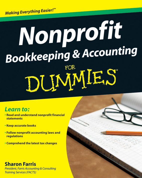 Sharon Farris Nonprofit Bookkeeping and Accounting For Dummies ittelson thomas financial statements