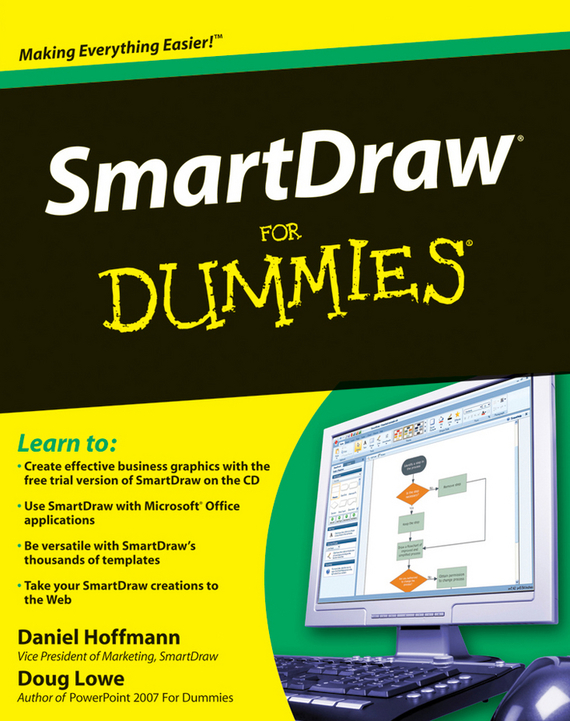 Doug  Lowe SmartDraw For Dummies doug lowe powerpoint 2016 for dummies