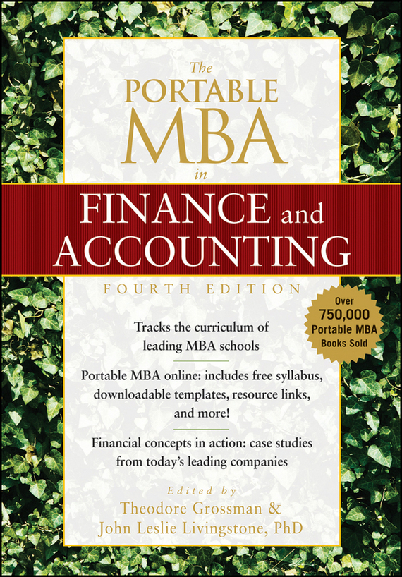Theodore Grossman The Portable MBA in Finance and Accounting бордюр blau versalles mold michelle 3 5x25