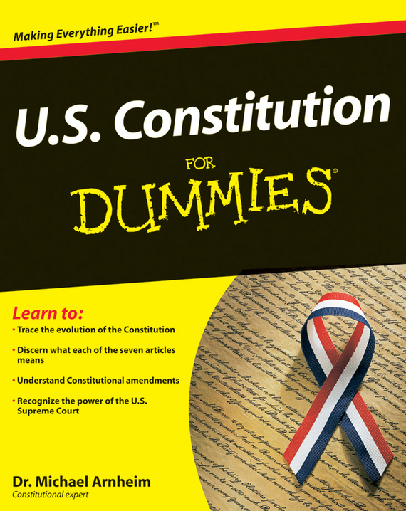 Michael Arnheim U.S. Constitution For Dummies brand new s262dc b32 6pcs set with free dhl ems