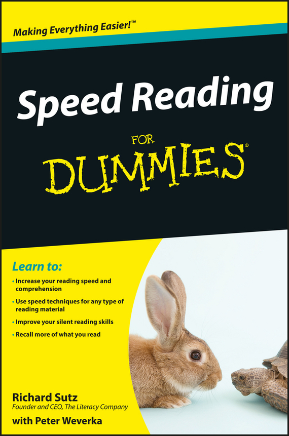 Peter Weverka Speed Reading For Dummies read write inc my reading and writing kit becoming a reader