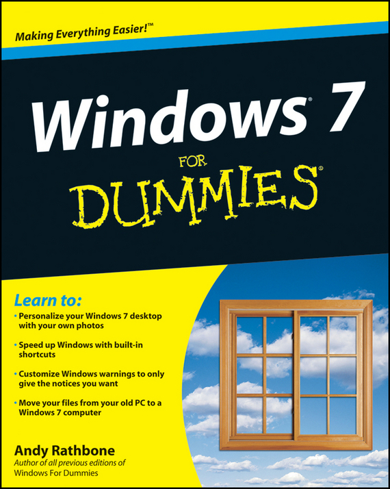 Andy Rathbone Windows 7 For Dummies windows 7 elearning kit for dummies