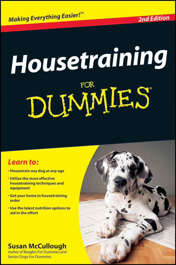 Susan McCullough Housetraining For Dummies ISBN: 9780470555354