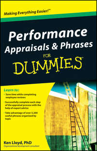 Ken  Lloyd - Performance Appraisals and Phrases For Dummies
