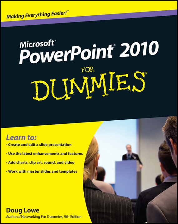 Doug  Lowe PowerPoint 2010 For Dummies doug lowe powerpoint 2016 for dummies