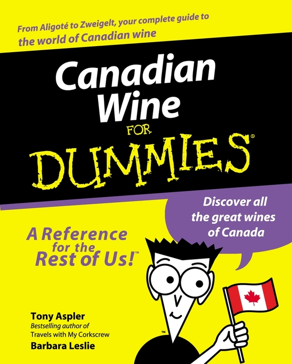 Tony  Aspler Canadian Wine for Dummies tony levene investing for dummies uk