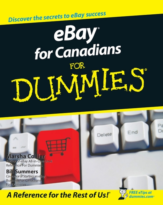 Marsha  Collier eBay For Canadians For Dummies tony martin personal finance for canadians for dummies