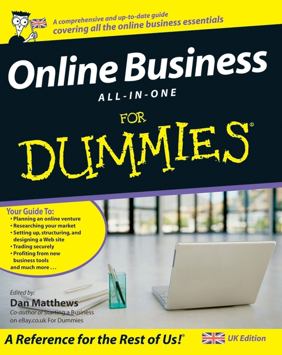 Dan Matthews Online Business All-In-One For Dummies ISBN: 9780470724132 bb1 детям