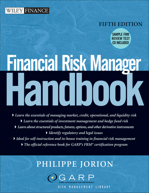 Philippe Jorion Financial Risk Manager Handbook credit risk management practices