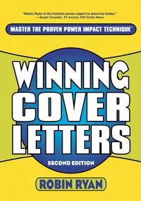 Robin  Ryan - Winning Cover Letters